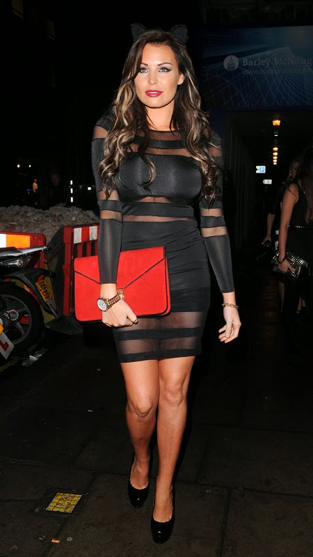Jessica Wright hot Tight dress images at Sketch Halloween ...