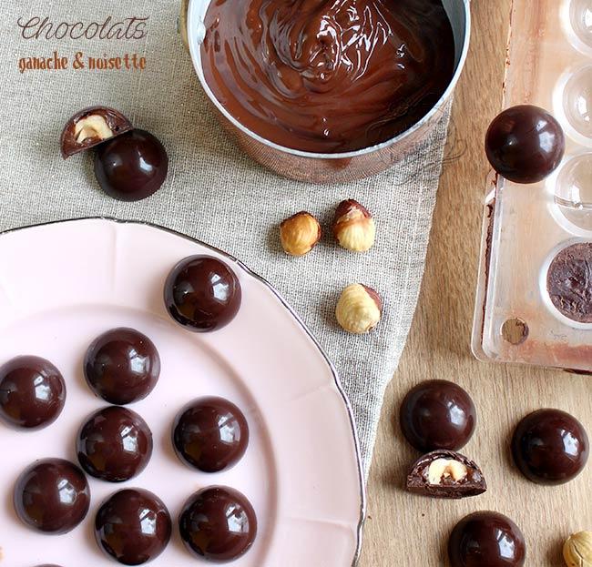 recette chocolat maison noisette