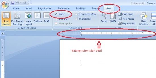 Cara Membuat Daftar Isi Dengan Titik-titik Rapi di MS. Word