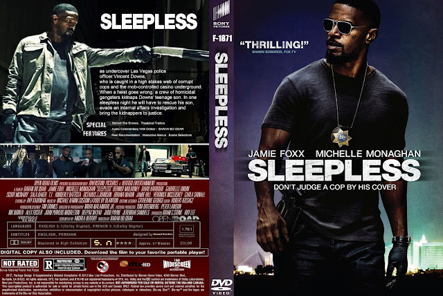Sleepless DVD Cover