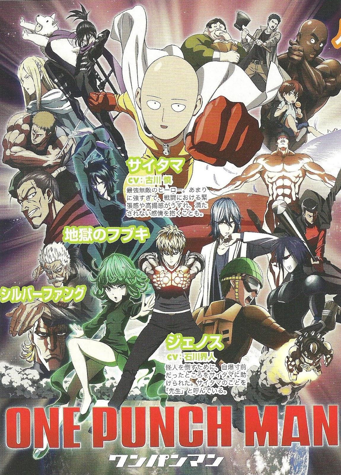 Moonlight Summoner's Anime Sekai: One-Punch Man ワンパンマン