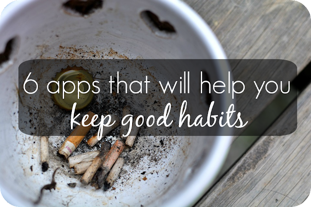 6 apps that will help your keep good habits