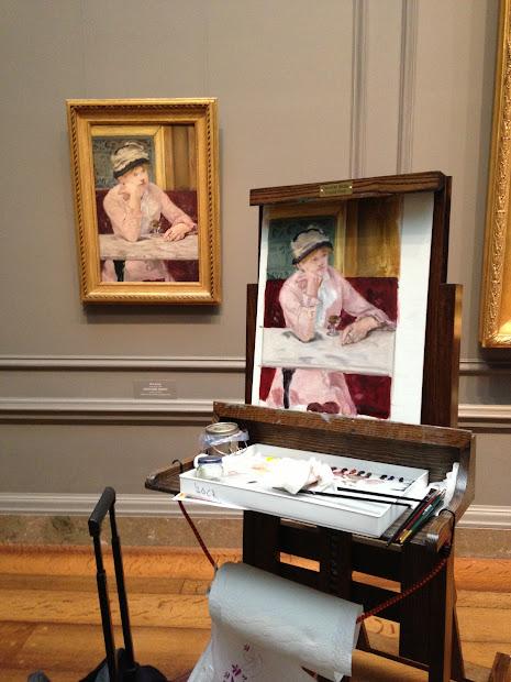 Maria Bennett Hock National Of Art Copyist