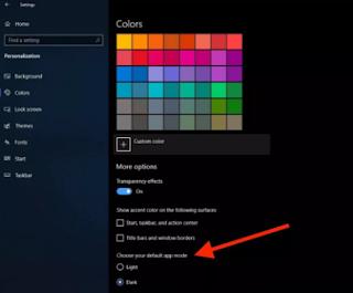 How to Activate Dark Mode Windows 10