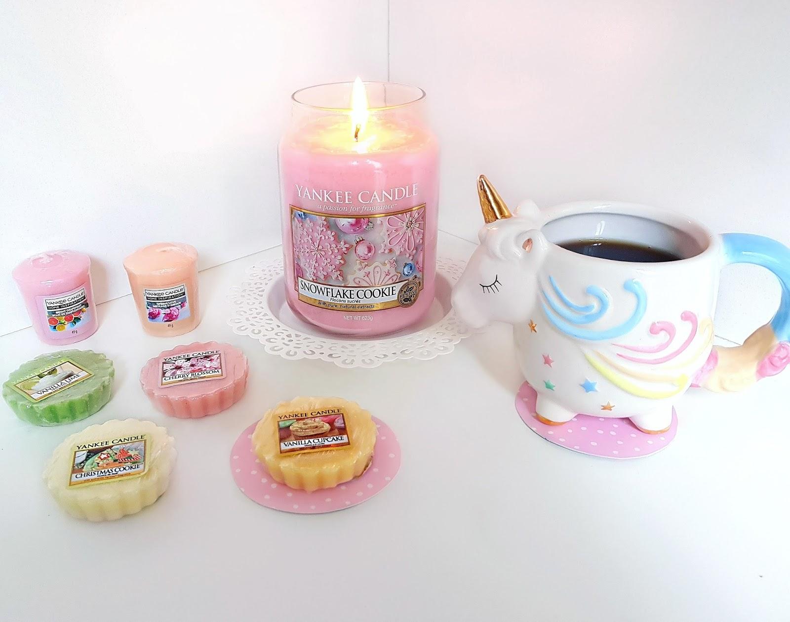 Yankee Candle - Snowflake Cookie, świeca zapachowa