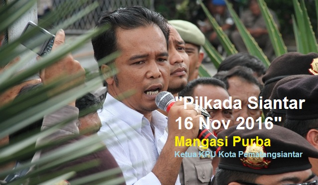 Akhirnya KPU Kota Pematangsiantar Menetapkan 16 November 2016 Pilkada Siantar