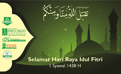 Idul Fitri 1 Syawal 1438 H