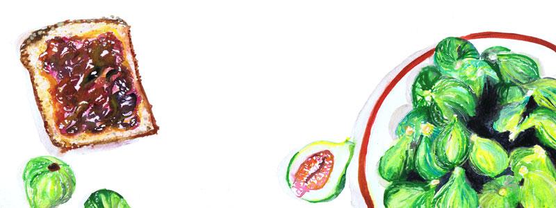 cff8409d51e1c naomese - naomi bardoff's art blog: Kitchen Prints Etsy Shop Update