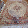 "Hand Knotted Indian Rug 9' x 12' 7"" For Immediate Sale by the Owner"