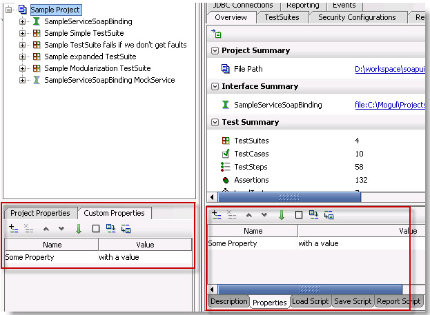 How to access project / test suite / test case / datasource