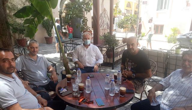 Συνάντηση Ανδριανού και του Συλλόγου Εστίασης Ναυπλίου