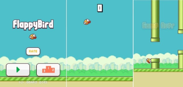 Flappybird ending stage