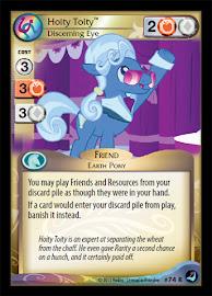 My Little Pony Hoity Toity, Discerning Eye High Magic CCG Card