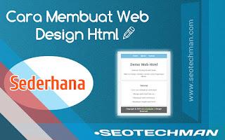 Cara Membuat Web Design Html