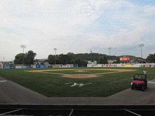 Home to center, Historic Bowman Field