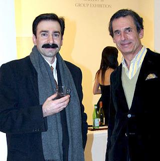 Markos Kaminis mustache eurotrash