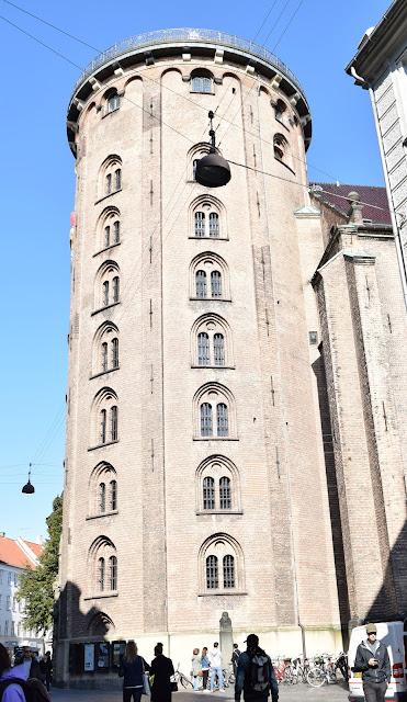 round tower, exterior, copenhagen, observatory, rundetaarn