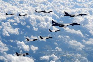 การซ้อมรบทางอากาศของสหรัฐฯในภูมิภาคเอเชีย-แปซิฟิค เท่ากับเป็นการทำให้โอลิมปิกเกมส์อยู่ในหมอกควันของสงคราม