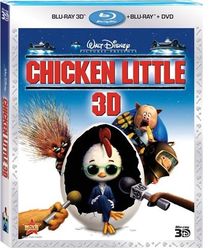 Chicken Little 3D SBS Latino Dual