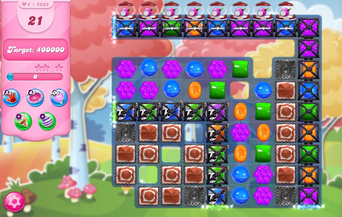 Candy Crush Saga level 5922