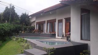 Villa Di Lembang Ada Kolam Renang Private Pool