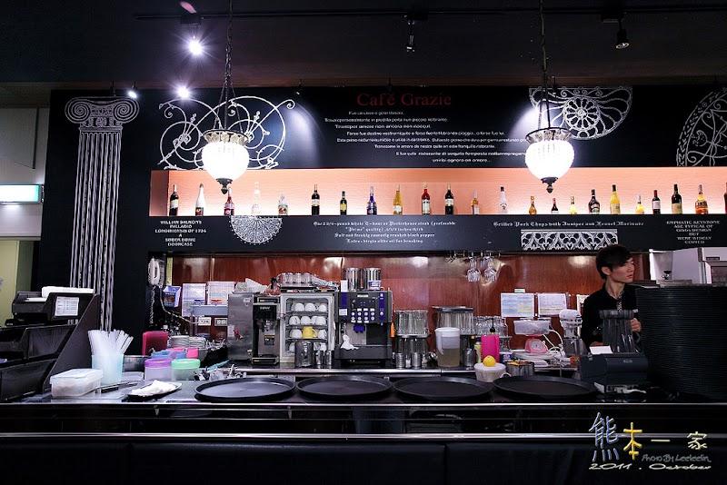 蘭城新月廣場美食|Cafe Grazie 義式屋古拉爵