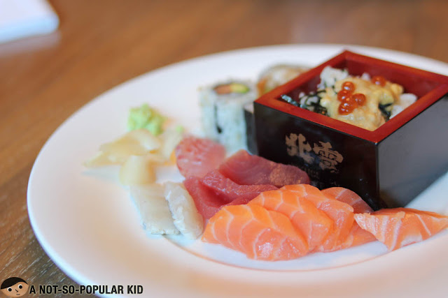 Modern Japanese Cuisine in Nobu Restaurant, City of Dreams