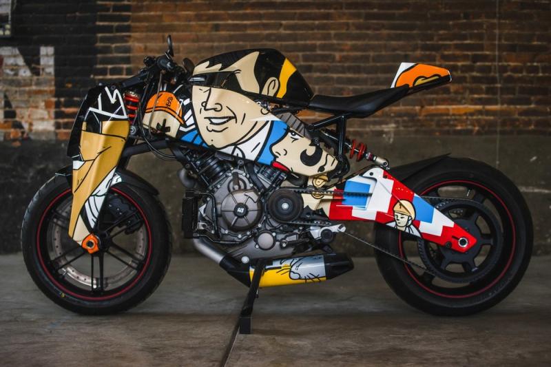 Custom MAGPUL RONIN motorcycle 6