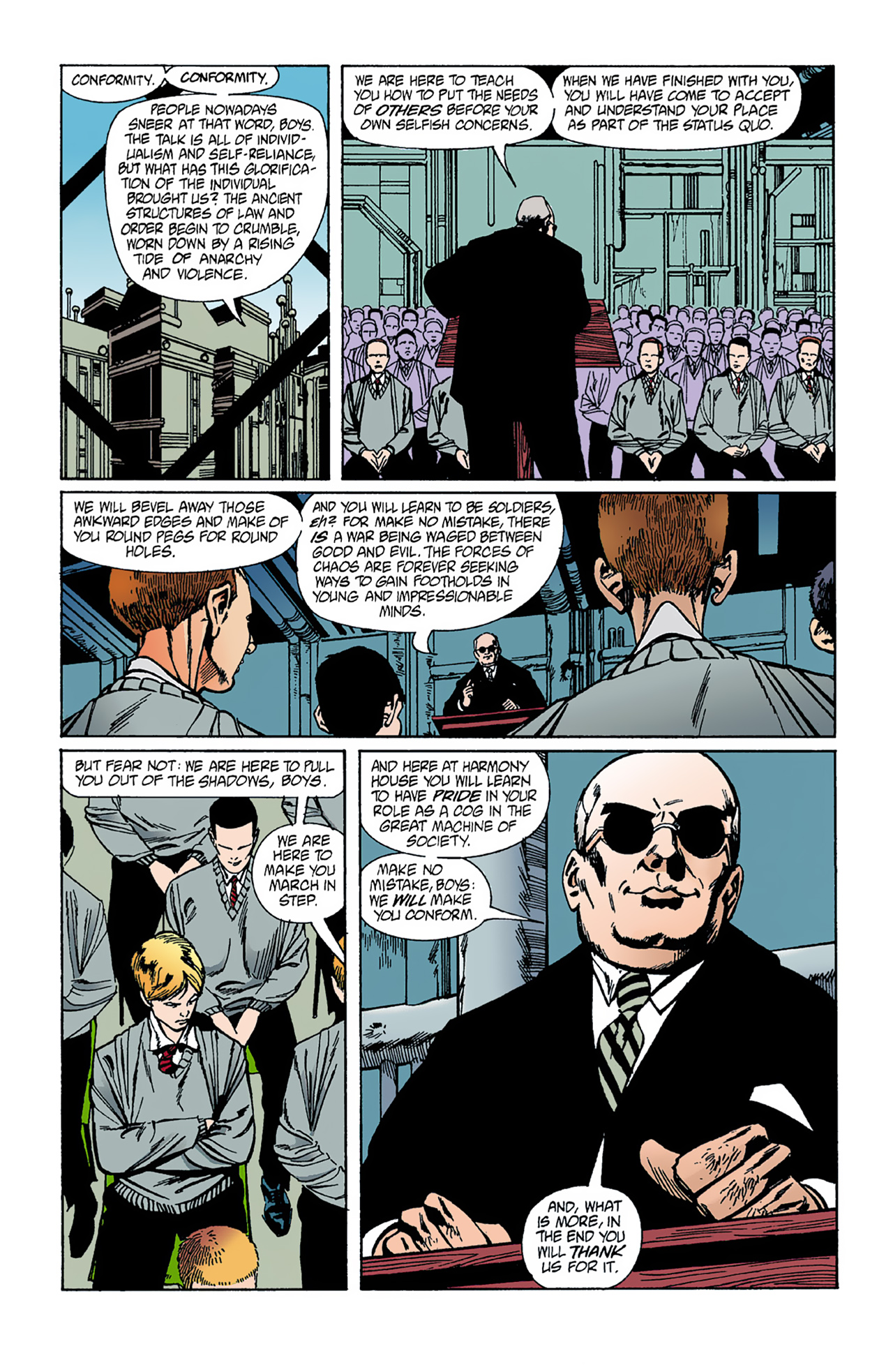 The Invisibles (1994) 1 Page 24