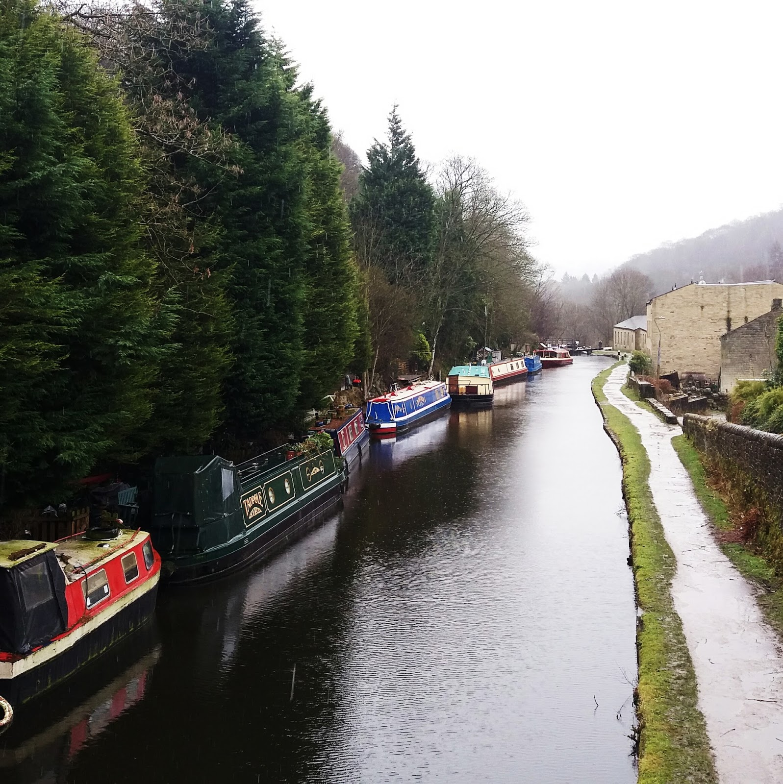 Hebden Bridge in February