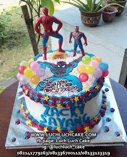 Kue Birthday Spiderman Mainan Surabaya -Sidoarjo