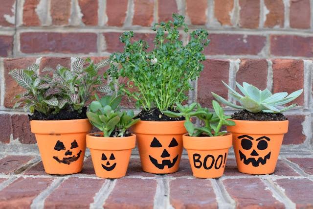 Halloween Gardening - Make Scary Pots — Kids Gardening