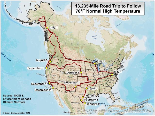 Brian B S Climate Blog 70 176 F Road Trip