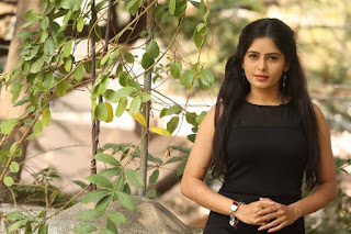 Madhumitha Latest Picture Gallery in Black Short Dress ~ Celebs Next