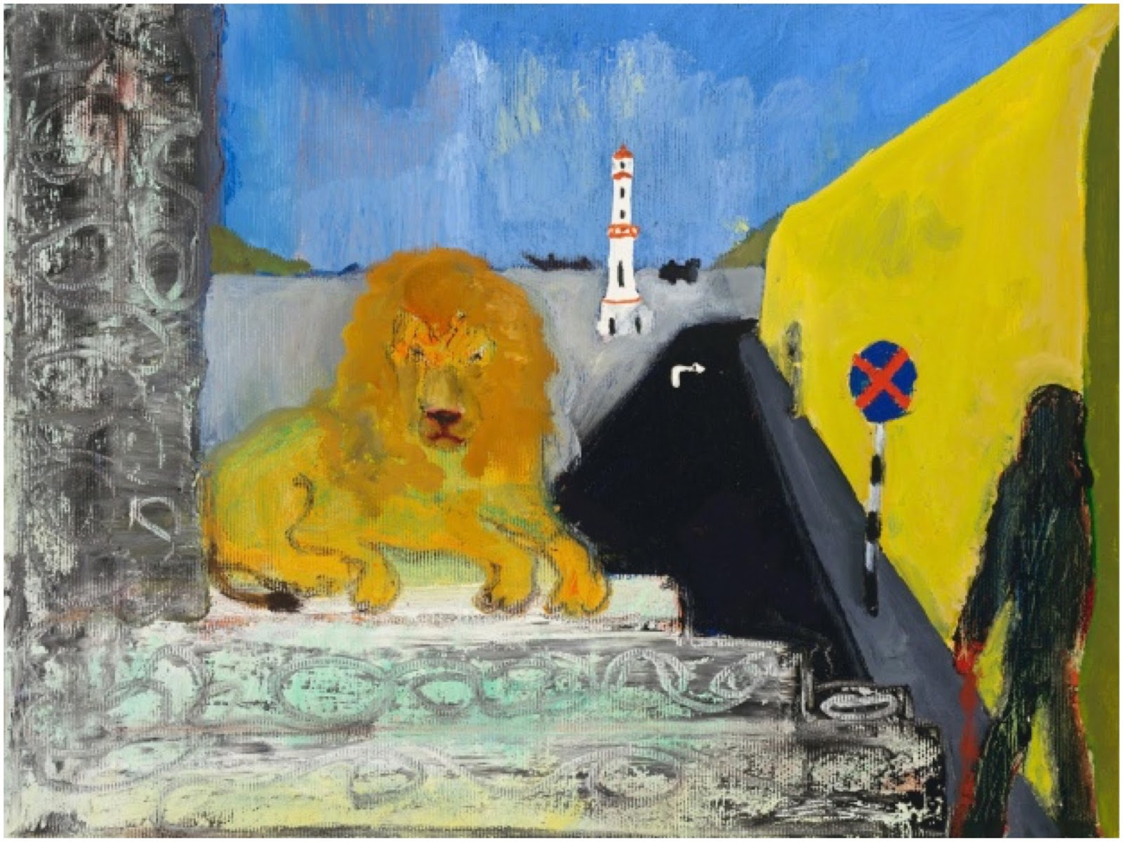 Chopped Hand, Peter Doig