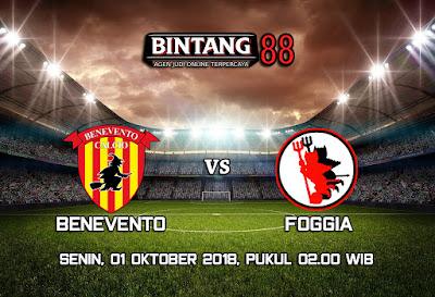 Prediksi Benevento vs Foggia 1 Oktober 2018