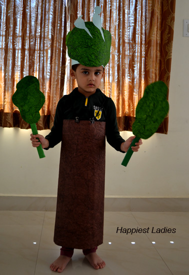 Summer Theme Fancy Dress – Tree