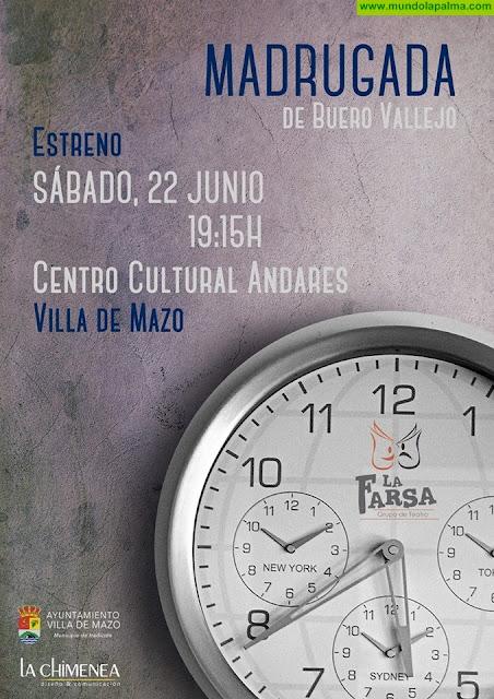 """Madrugada"" de Antonio Buero Vallejo en Villa de Mazo"