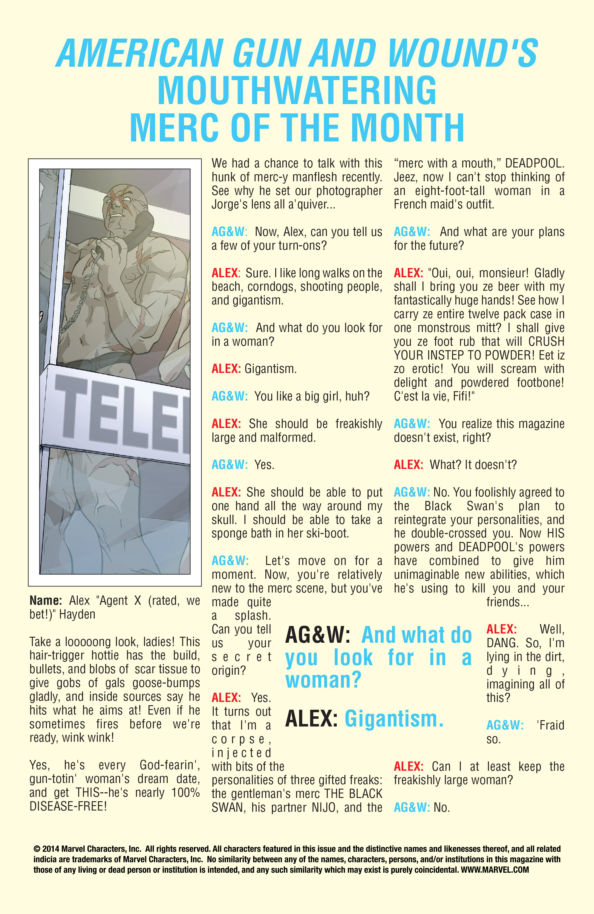 Read online Agent X comic -  Issue #15 - 2