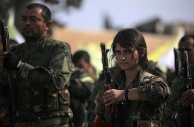 #Syria : More than 11,000 Syrian Democratic Forces fighters were killed and 21,000 others wounded fighting IS,
