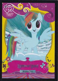 My Little Pony Rainbow Dash [Weather Pony] Series 2 Trading Card