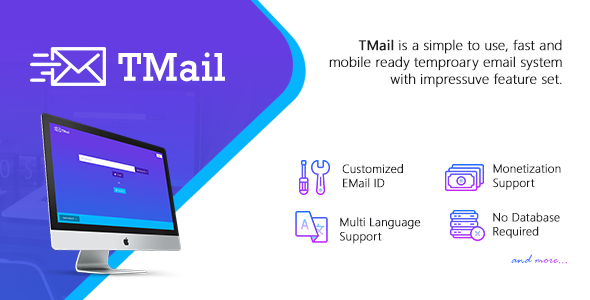 TMail v4.1 - Multi Domain Temporary Email System