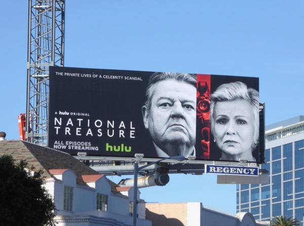 National Treasure series premiere billboard