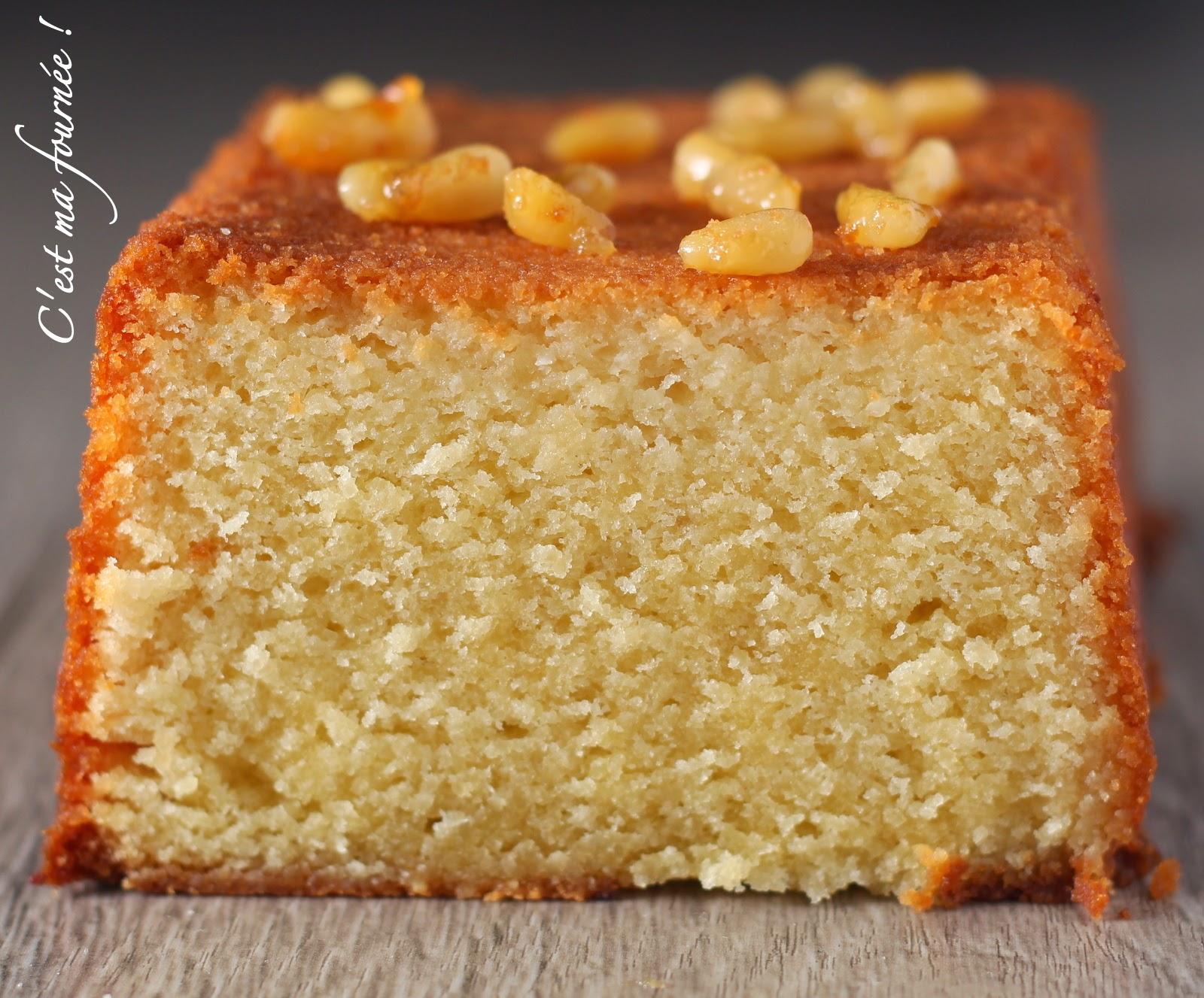 cake aux agrumes ultra moelleux Michalak