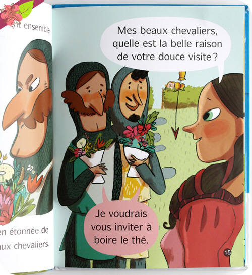 L'apprenti chevalier : Quel beau troubadour ! de C. Nicolas, R Chaurand et B. Delaporte