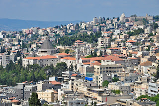 Nazareth city - north of Israel