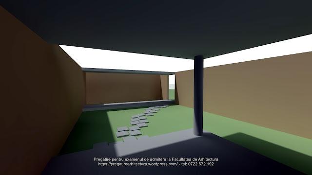 Rezolvare subiectul 6 - Examen de admitere la Facultatea de Arhitectura - UAUIM - 2018