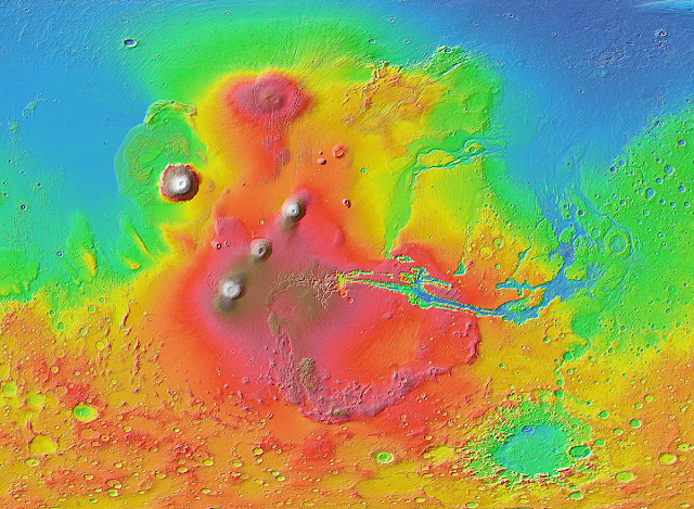 Ancient tsunami evidence on Mars reveals life potential