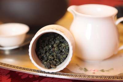 Tasting a Thai oolong tea: Jing Shuan