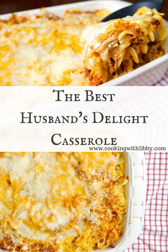 Lasagna meets beef stroganoff in this recipe. Once you find out the history behind this dish, you'll see that it really is Husband's Delight Casserole!